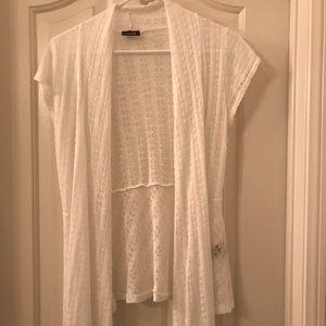 Women's Rue 21 white cardigan